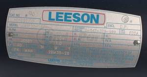 M4S17DH16F by LEESON - ELECT MOTOR