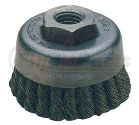 """8228 by ATD TOOLS - 2-3/4"""" Knot Cup Brush"""