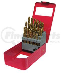 9229 by ATD TOOLS - Titanium Coated Premium Drill Bit Set, 29-Pc.