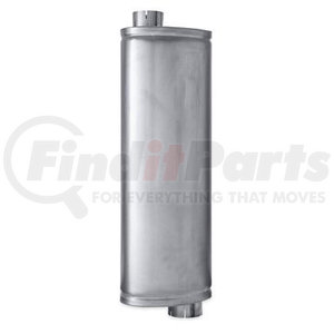 FLT86536M by NAVISTAR - INTERNATIONAL MUFFLER,TYPE 2 OVAL MUFFLER