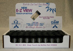 10002 by E-Z MIX - E-Z Clear Touch Up Bottle, box of 50