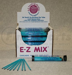 76000-E by E-Z MIX - E-Z Touch Up Brushes with 36 Brushes