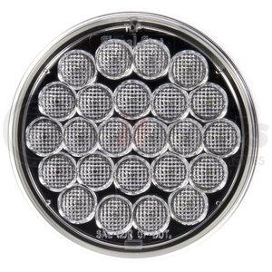 4060C-3 by TRUCK-LITE - Signal-Stat, LED, Clear Round, 24 Diode, Back - Up Light, PL-2, 12V, Bulk