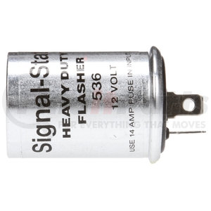 536 by TRUCK-LITE - Signal-Stat, 6 Light Thermal, Aluminum Flasher Module, 12V, 2 Blade Terminals