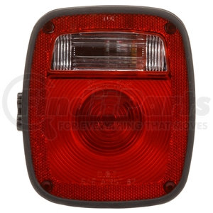 5024 by TRUCK-LITE - Signal-Stat, Incandescent, Red/Clear Polycarbonate