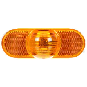 69202Y3 by TRUCK-LITE - Incandescent, Yellow Oval, 1 Bulb, Side Turn Signal, PL-3, 12V, Bulk