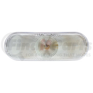 69203C by TRUCK-LITE - Male Pin, Incandescent, Clear Oval, 1 Bulb, Back-Up Light, PL-2, 12V