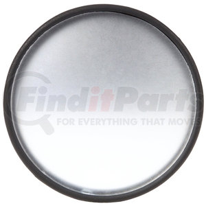 7038 by TRUCK-LITE - Signal-Stat, 2 in., Black Plastic Stick-On Convex Mirror, Round, Universal Mount