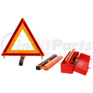 798 by TRUCK-LITE - Signal-Stat, Foldable, Free-Standing, Warning Triangle, Kit