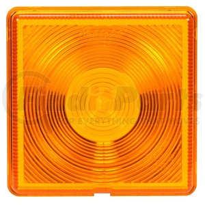 8008 by TRUCK-LITE - Signal-Stat, Square, Yellow, Acrylic, Replacement Lens for Direction Indicator Lights, STT/B/U Lights (8000, 8001, 8002), Snap-Fit