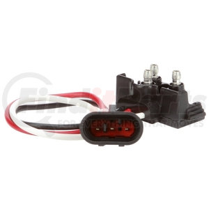 94768 by TRUCK-LITE - Stop/Turn/Tail Plug, 16 Gauge GPT Wire, Right Angle PL-3, Fit 'N Forget S.S. Plug, 8.5 in.