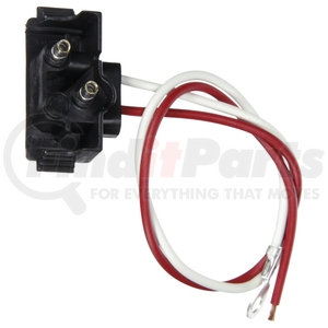 94992 by TRUCK-LITE - Right Angle PL-2, Stripped End/Ring Terminal, 2-Wire, GPT, 11""