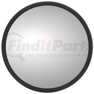 "HD 8 1//2/"" Round convex Extra Wide Angle Full Bubble Acrylic mirror Black"