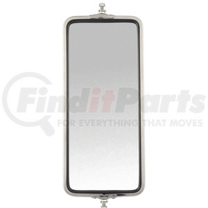 97822 by TRUCK-LITE - OEM Style, 7 x 16 in., West Coast Mirror, Silver Stainless Steel