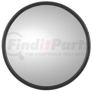 97835 by TRUCK-LITE - 12 in., Grey Steel Convex Mirror, Round, Universal Mount