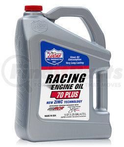 10266 by LUCAS OIL - 70 WT PLUS Racing Oil - 5 Gallon Pail (Representative Image)
