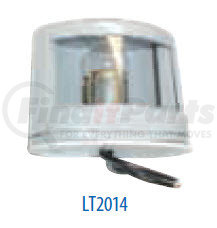 LT2014 by POWER PRODUCTS - Hooded License Lamp Gray Housing