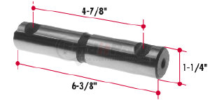B1245-46 by TRIANGLE SUSPENSION SYSTEMS CO. - Freightliner Spring Pin