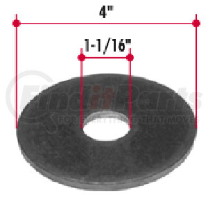 FR262 by TRIANGLE SUSPENSION SYSTEMS CO. - Equalizer Washer - Inner