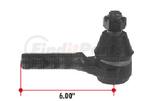 ES3177L by TRIANGLE SUSPENSION SYSTEMS CO. - Tie Rod End