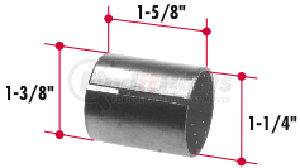 BT185 by TRIANGLE SUSPENSION SYSTEMS CO. - Bi-Metal Bushing (1-3/8 x 1-1/4 x 1-5/8)
