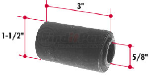 RB134 by TRIANGLE SUSPENSION SYSTEMS CO. - Rubber Encased Bushing
