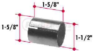 BT187 by TRIANGLE SUSPENSION SYSTEMS CO. - Bi-Metal Bushing (1-5/8 x 1-1/2 x 1-5/8)