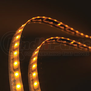 L13510803 by GROTE - XTL LED Light Strip, Yellow, 34.02 in | 864 mm
