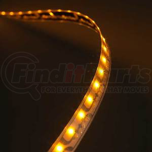 L11510803 by GROTE - XTL LED Light Strips, Yellow, 11.3 in | 288 mm