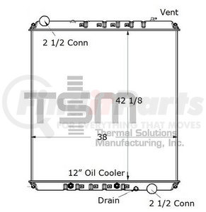 0437250S by THERMAL SOLUTIONS MFG. - Radiator