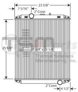 0437408S by THERMAL SOLUTIONS MFG. - Radiator