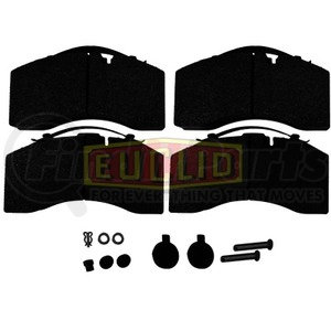 EMD1369AF by EUCLID - HYDRAULIC BRAKE - DISC PAD SET