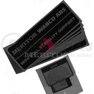 R955900 by MERITOR - MISC - PACKAGING LABEL