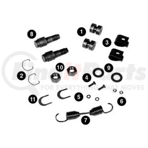 KIT9423 by MERITOR - KIT-BK REP-MNR