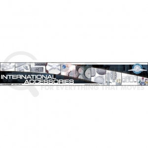 99035 by UNITED PACIFIC - International Fixture/Header Sign