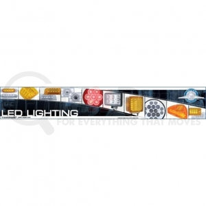 99036 by UNITED PACIFIC - LED Fixture/Header Sign