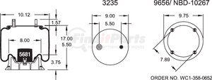 W013588806 by FIRESTONE - 1T15M4 AIR SPRING
