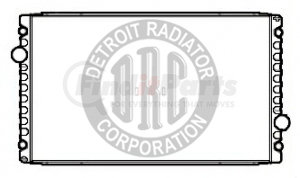 IN8143 by DETROIT RADIATOR CORP - RADIATOR for International