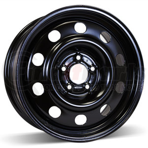 X40911 by MACPEK -  Shot Peened Steel Wheel for Ford, Lincoln, and Mercury Police Cars