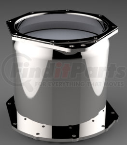 DC1-0070 by DENSO POWEREDGE - PowerEdge Diesel Particulate Filter - DPF - Isuzu 4HK1-TC (Including Gaskets)