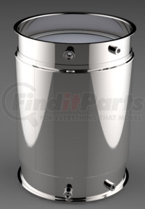 DC1-0073 by DENSO POWEREDGE - PowerEdge Diesel Particulate Filter - DPF for Cummins ISX (Including Gaskets)