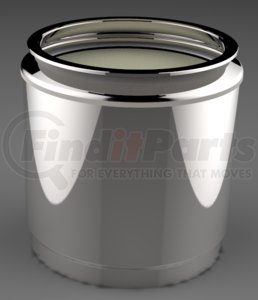 DC1-0076 by DENSO POWEREDGE - PowerEdge Diesel Particulate Filter - DPF - Detroit Diesel DD13, DD15 (2 filters in the box) (Including Gaskets)