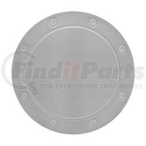 SDG-252 by PILOT - Bully - Stainless Steel Gas Door Cover For 05-08 Ford Mustang, Polished