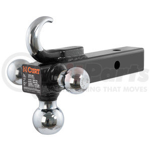 45675 by CURT MANUFACTURING, LLC. - MULTI-BALL MOUNT WITH TOW HOOK