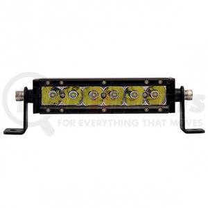 """36611 by UNITED PACIFIC - 6 High Power Cree LED Single Row 7"""" Light Bar"""