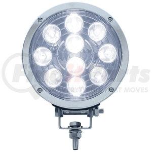 "38802 by UNITED PACIFIC - 7 High Power 3 Watt LED 7"" Driving Light - 1300 Lumens"