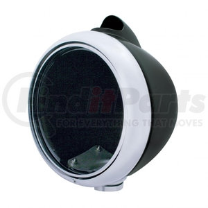 32009 by UNITED PACIFIC - Black Guide 682-C Style Headlight Housing w/ Turn Signal Housing