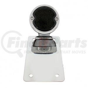 """20220 by UNITED PACIFIC - LED """"Bobber"""" Style Vertical Tail Light - Chrome Bracket"""