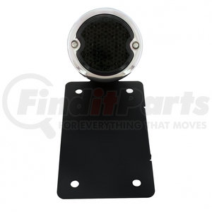 """20221 by UNITED PACIFIC - LED """"Bobber"""" Style Vertical Tail Light - Black Bracket"""