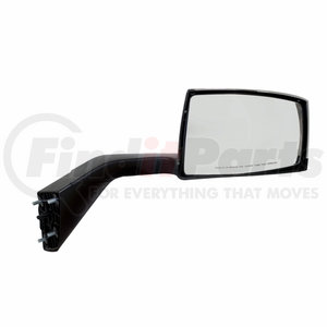 41696 by UNITED PACIFIC - Chrome Hood Mirror Assembly For 2004-2014 Volvo VN/VNL - Passenger